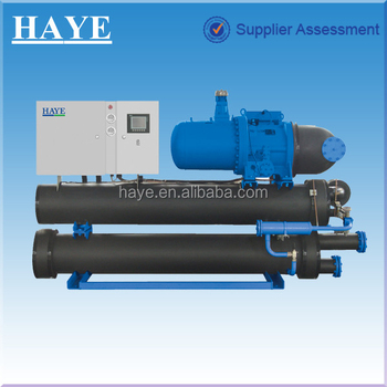 Screw Type water source heat pumps
