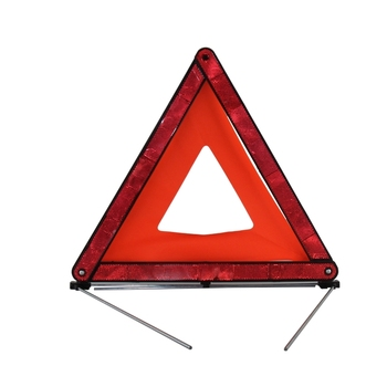 Red Travel Fold Up Safety sign Warning Triangle