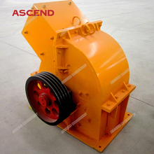 Popular 1 3 5 10 tph ton per hour stone powder making hammer crusher mill for limestone, glass and concrete