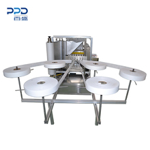 China Good Quality High Speed Automatic Alcohol Pad Making Machine PPD-3R500