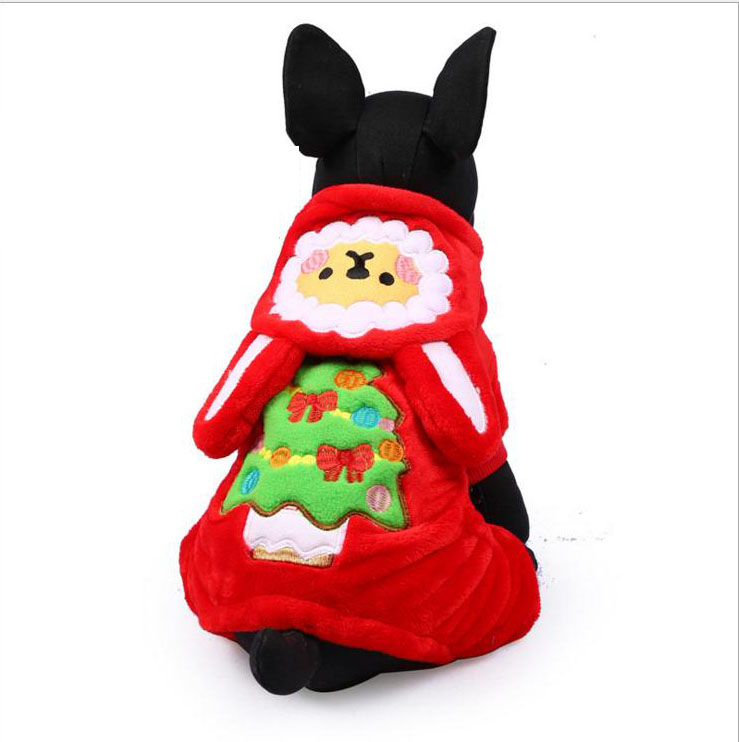 Super Quality Fleece Dog Clothes Cosplay for Halloween and Christmas