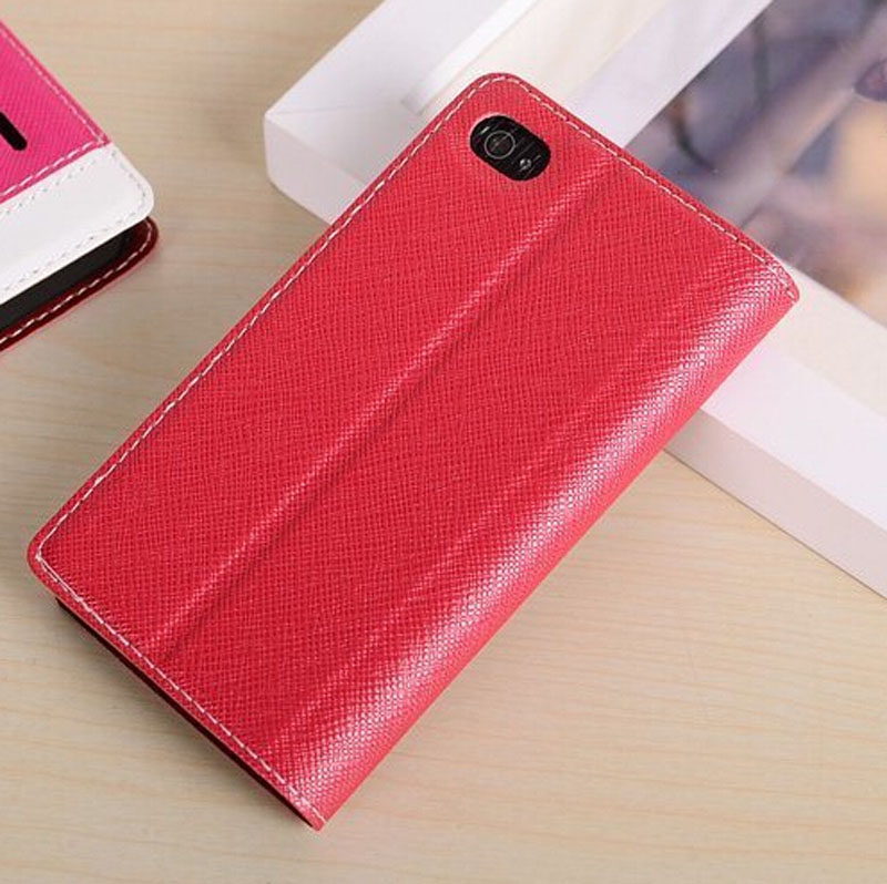 for iphone 4 leather portfolio case