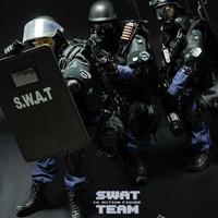 New Arrival SWAT Solider Plastic Action