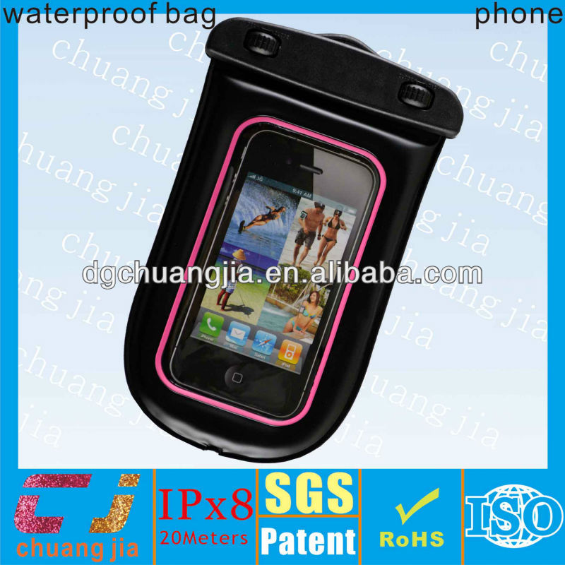 multifunction popular fancy cell phone waterproof cases with ipx8 certificate