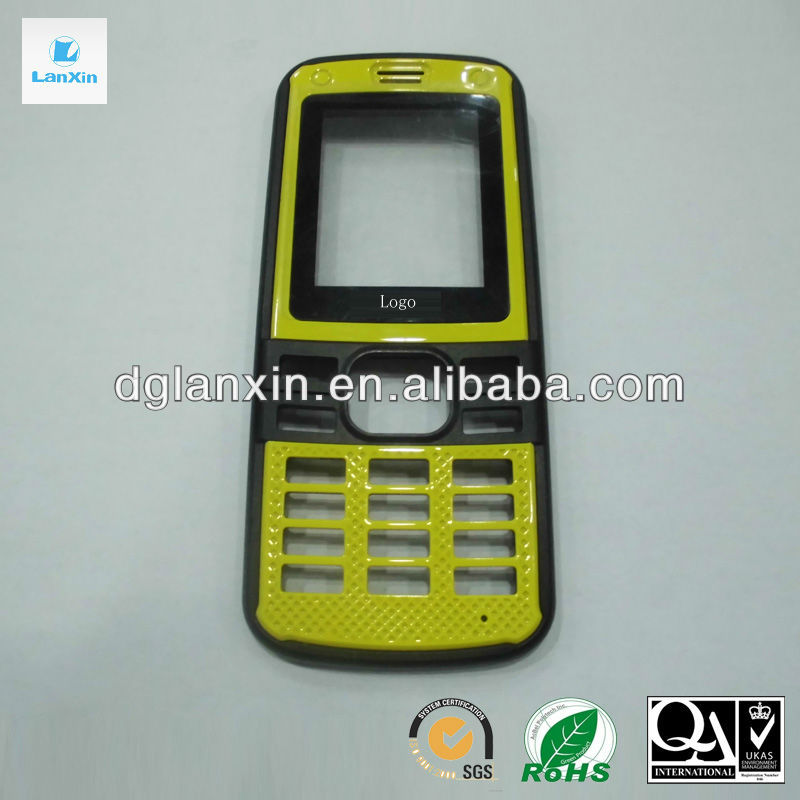 Plastic housing for cell phone