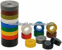 Prevent insulation tape with green&yellow color/Vinyl Electrical Insulation PVC Adhesive Tape in high quality