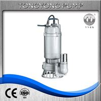 water treatment pumps for farming irrigation jywq sewage mixed pump