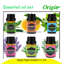 Private label natural lavender extract calming skin pure essential oil set 6*10ml