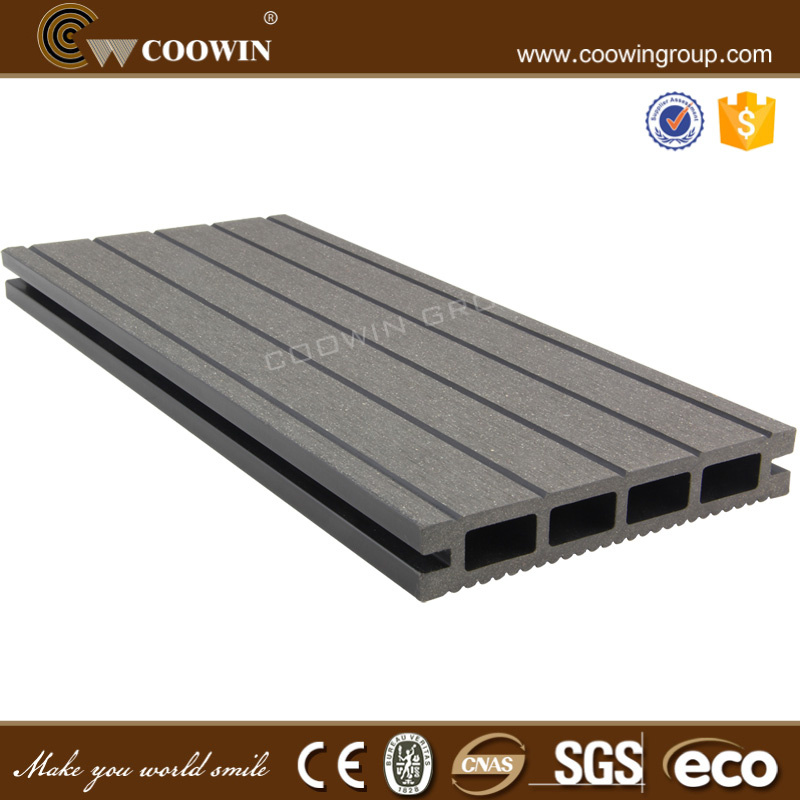 ECO WPC life use anti uv wood plastic composite decking