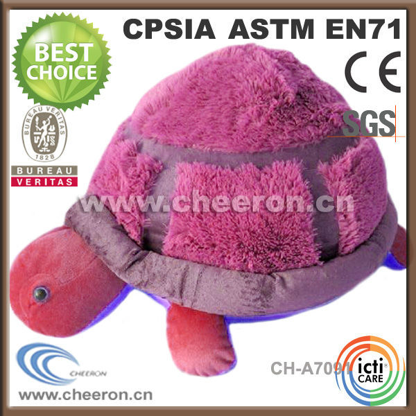 Latest Gift Items Soft Plush Turtle Shaped Pillow