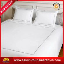 good quality embroidery design bed sheet bed cover sheet hotel bed sheets
