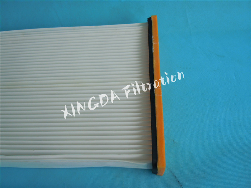 gas turbine intake air filter cartridge