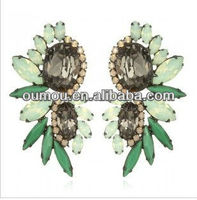 Faceted Diamond Shaped Studs/Earring Stud