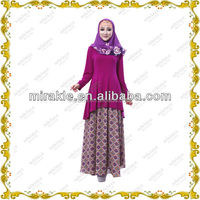 MF21491 Baju Batik baju kurung for 2014 EID