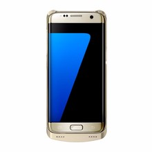 Slim External Backup Charger Case Gold Battery Case companies looking for agents in south africa for S7 edge Sumsung Galaxy