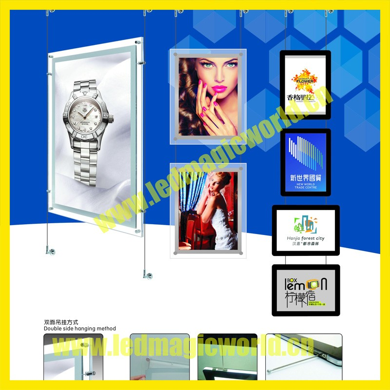 2016 New fresh edge light electronic led real estate signs