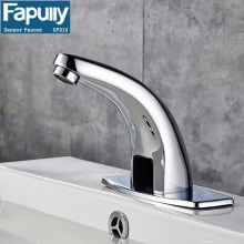 Fapully Automatic touch sensor Hot&cold Sensor Mixer Faucet Bathroom Sink Tap