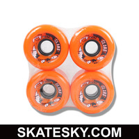 Clans PU casting Long skateboard wheels WH-C-053, basic quality PU casting wheels in 70mm