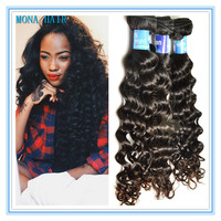 Deep Wave Remy 100 Human Hair Single Donor Raw Virgin loose deep wave virgin hair