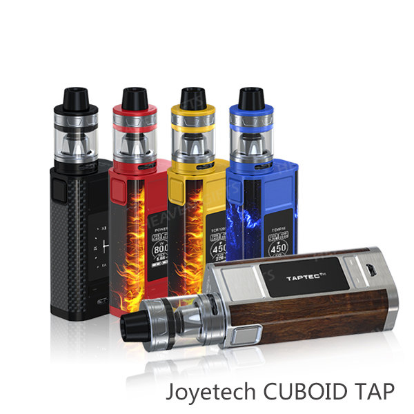 Dual 18650 cells 228W Joyetech CUBOID TAP with ProCore Aries Kit