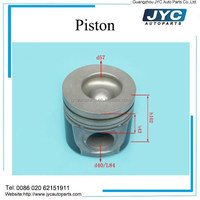 YC6105ZQC engine parts J3200-1004015 car engine kit piston size 43mm