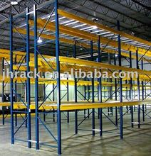 Frame and beam warehouse storage pallet rack pallet racking for sale