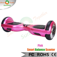Pink Balance Wheel Scooter CE ROHS Approved