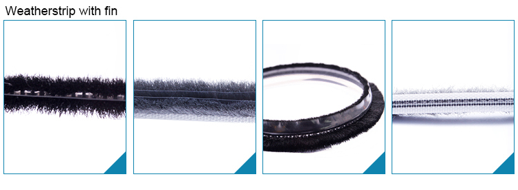 Anti dust Newest High Quality Custom product aluminum window rubber seal