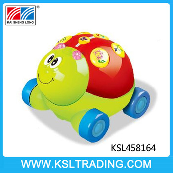 2 channel cartoon ladybug animal rc cars with music and light