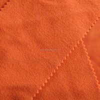 super poly velvet brushed fabrics 135gsm warp knit factory