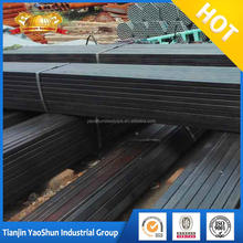 good price black ms/ carbon steel tube welded square pipe structural material