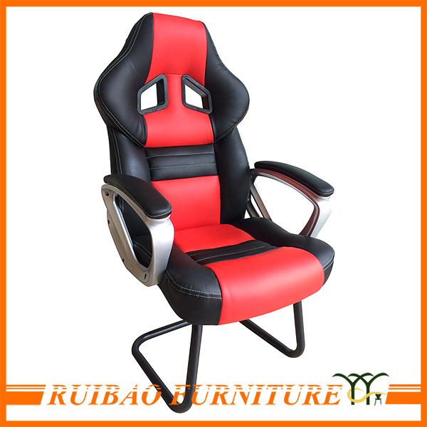 2016 Alibaba New Stylish Comfortable Red Leather Armchair