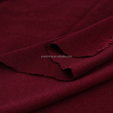 Factory Supply Polyester Rayon Stretch Twill Interlock knit fabric for clothes