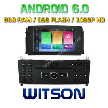 WITSON Octa-Core(Eight Core) Android 6.0 CAR DVD For MERCEDES-BENZ C CLASS W204 2007-2011 2G ROM 1080P TOUCH SCREEN 32GB ROM