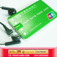 2013 promotional mp3 player with micro sd card slot,mp3 player tf card,China OEM name card MP3 Manufacturers, Suppliers