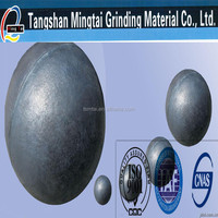 2015 hot sale ball mill cast steel grinding balls for cement plant mills