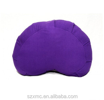 Custom size yoga cushion heart shape cushion