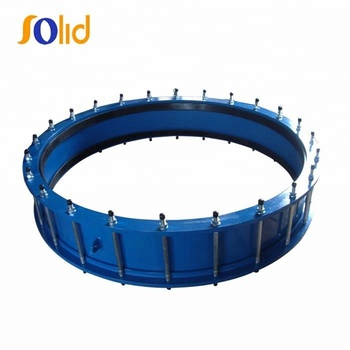 Epoxy coated cast iron dismantling joint expansion joint for water supply pipe line
