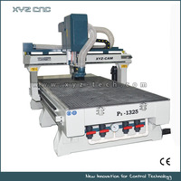 3 axis cnc woodworking engraving machine for plane carving, bottom tip engraving, contour cutting P1-1325