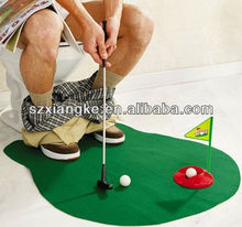 The Toilet Golf Putting Game- Potty Putter Training - Ideal present gift for GOLFER