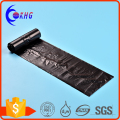 Wholesale customized size degradable black garbage bag on roll