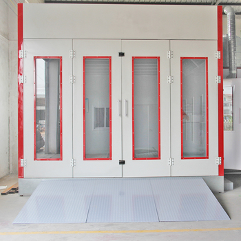 CE Approved Automotive Paint Spray Booth/Good Painting Chamber