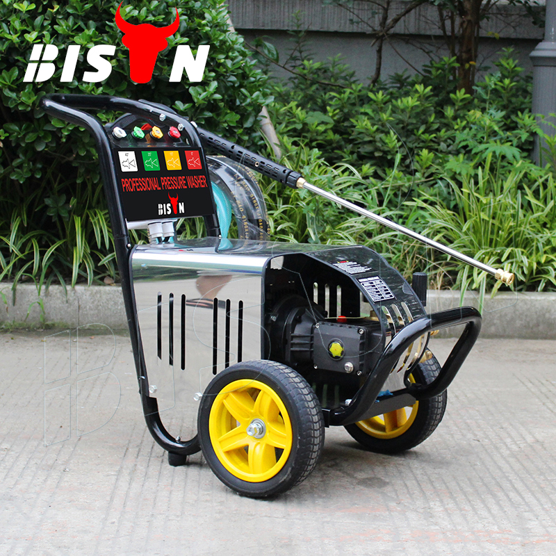 BISON(CHINA) Home 220v BS2500 2200 PSI 130 Bar OEM Electric High Pressure Cleaner For Car Washing