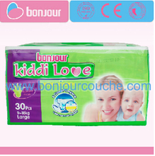 KIDDI LOVE b grade baby disposable diapers wholesale