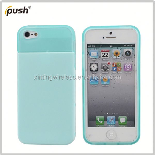 2014 hot sell cell phone case pc tpu combo for iphone5 tpu pc bumper case for iphone5