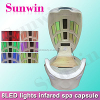 SW-708S color light spa capsule / body slimming space cabin