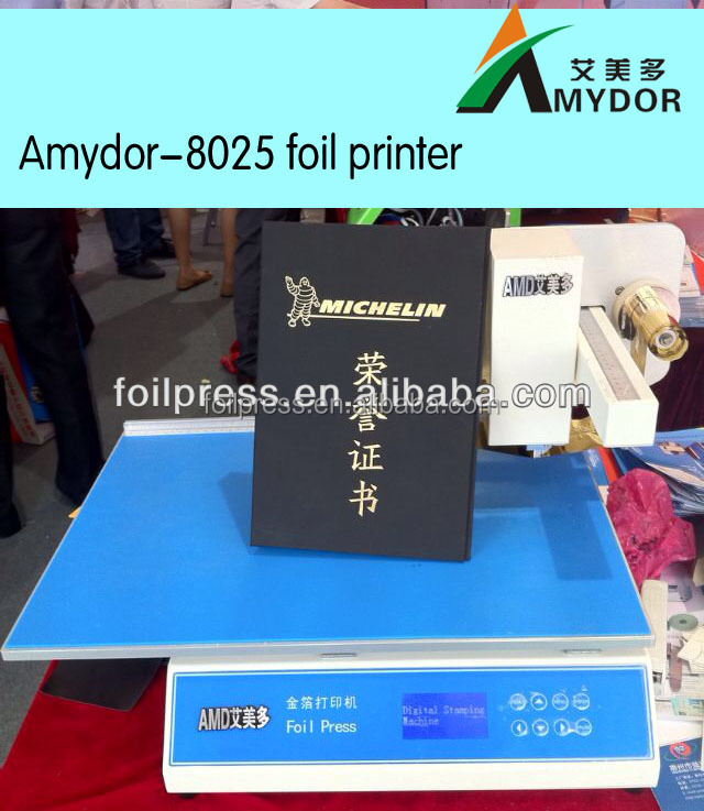 Foil xpress digital hot foil printer AMD3025