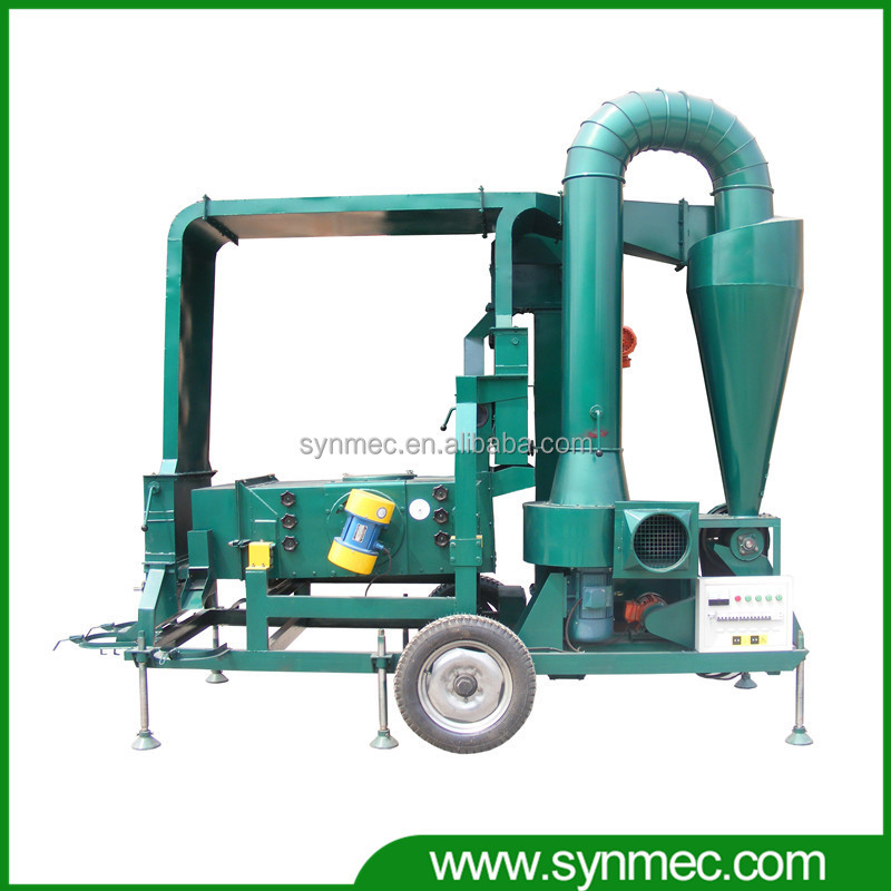 small farm machine for grain cleaning