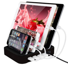 Desktop USB Charger Charging Dock Station Cradle Stand For iPad 2