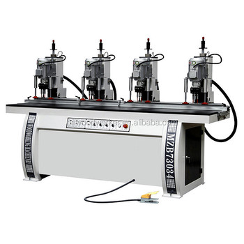4 Heads Hinge Boring Machine for woodworking